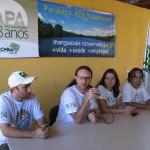 Mesa coordenada por Breno Herrera, chefe da APA