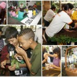 Diferentes atividades do Viva a Mata, evento da Fundação SOS Mata Atlântica