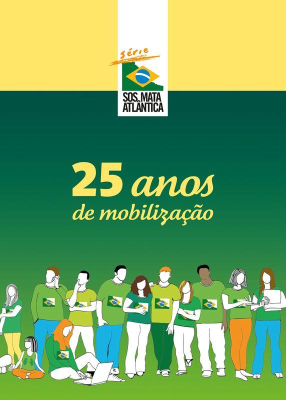 capa de 25 anos de mobilização