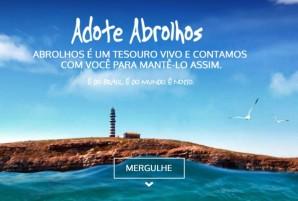 Adote Abrolhos - site 2