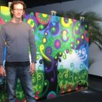 Filiage e o painel pintado para a SOS Mata Atlântica