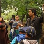 Botânico Ricardo Cardim durante passeio sobre árvores do Ibirapuera