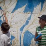 Grafite no Muro do Centro de Experimentos