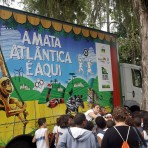 """Atividades do projeto """"A Mata Atlântica é Aqui"""". Foto: Arquivo SOS Mata Atlântica"""