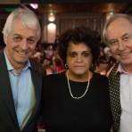 Pedro Passos, Ministra Izabella Teixeira e Carlos Minc - - Foto: Capim Filmes/SOS Mata Atlântica