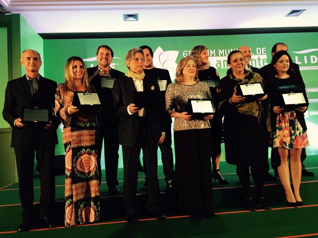 Homenageados premio Lide