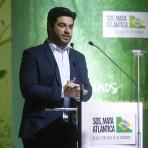 Tiago Ariosi, mestre de cerimônias voluntário.Foto: William Lucas-Inovafoto/SOS Mata Atlântica