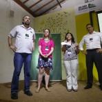 Mario Mantovani, Afra Balazina, Marcia Hirota e Olavo Garrido, diretores da Fundação. Foto: William Lucas-Inovafoto/SOS Mata Atlântica