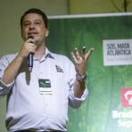 Rafael Fernandes, Gerente de Restauração Florestal da Fundação. Foto: William Lucas-Inovafoto/SOS Mata Atlântica