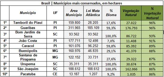 ranking desmatamento 1