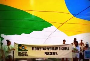 mobilizacao clima bandeira florestas