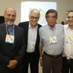 Roberto Klabin, Pedro Passos, Rodrigo Mesquita, Fábio Feldmann. Foto: William Lucas/Inovafoto/SOS Mata Atlântica.