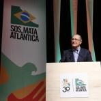 Geraldo Alckmin, governador de São Paulo. Foto: William Lucas/Inovafoto/SOS Mata Atlântica.