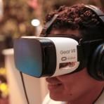 Ação com vídeo em realidade virtual. Foto: William Lucas/Inovafoto/SOS Mata Atlântica.