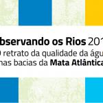 Relatório Observando os Rios 2018