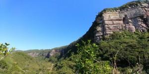 Vista do morro dos conventos. Foto: Diego Igawa Martinez