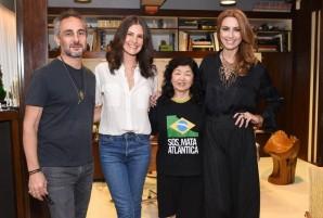 Ara Vartanian, Sabrina Gasperin, Marcia Hirota e Chiara Gadaleta