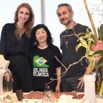 Chiara Gadaleta, Marcia Hirota e Ara Vartanian