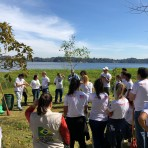 Ação de educação ambiental com o projeto Geração+Verde